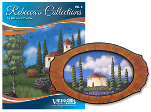 Rebecca's Collection 4 & Tray by Rebecca Trimble