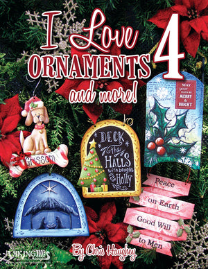 I Love Ornaments 4 by Chris Haughey