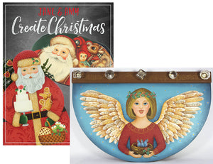 Create Christmas & Plaque by Jane Allen & Amy Mogish