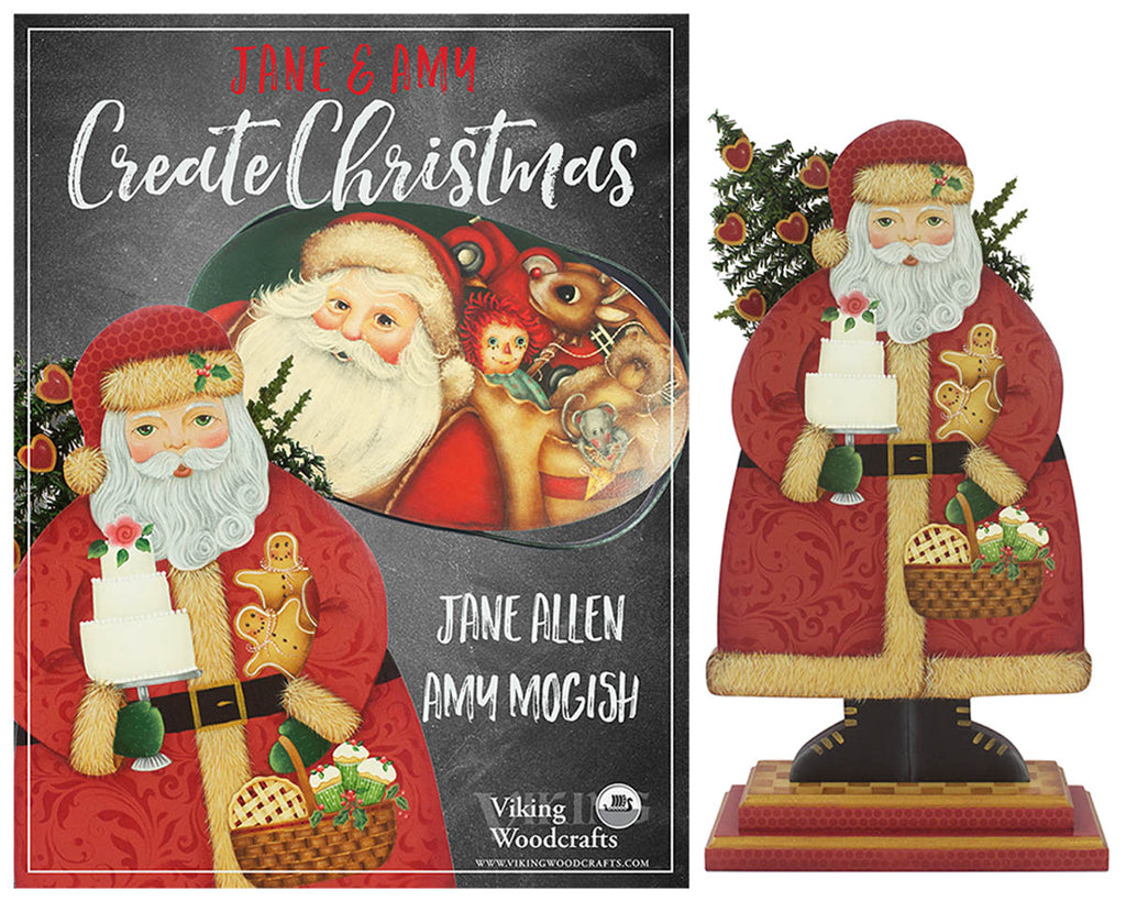 Create Christmas & Santa Stand by Jane Allen & Amy Mogish