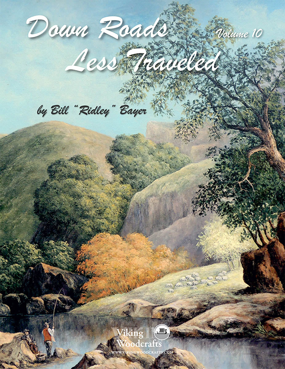 Down Roads Less Traveled Vol 10 by Bill Bayer