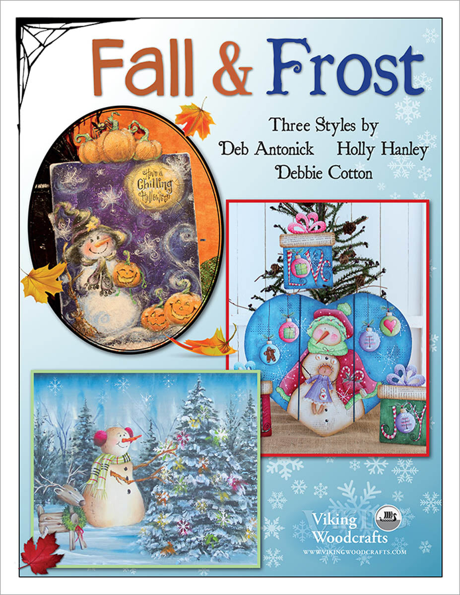 Fall & Frost ... Three Styles by Combined Artists