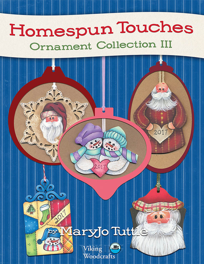 Homespun Touches: Ornament Collection 3 by MaryJo Tuttle