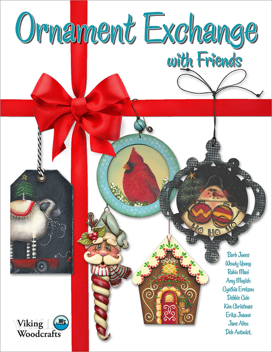 Ornament Exchange with Friends by Combined Artists