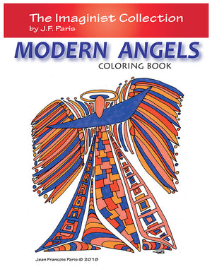 Modern Angels Coloring Book by J.F. Paris