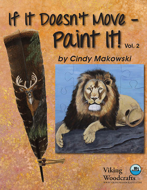 If It Doesn't Move, Paint It! V02 by Cindy Makowski
