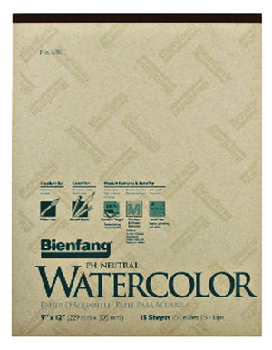 Montval Watercolor Paper, 140 lb. Cold Press by Canson-Talens