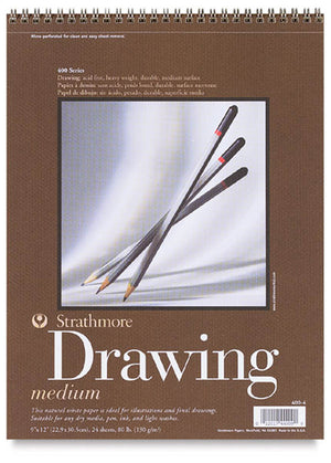 Drawing Paper Sheet Stock, 401 Series, 100 lb. by Strathmore