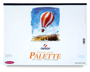 Disposable Palette Paper Pad by Canson-Talens