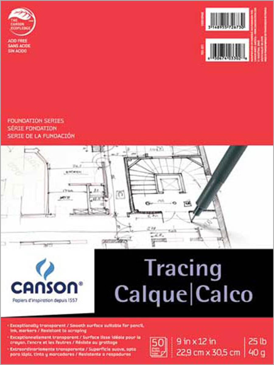 Tracing Pad, 25 lb. by Canson-Talens