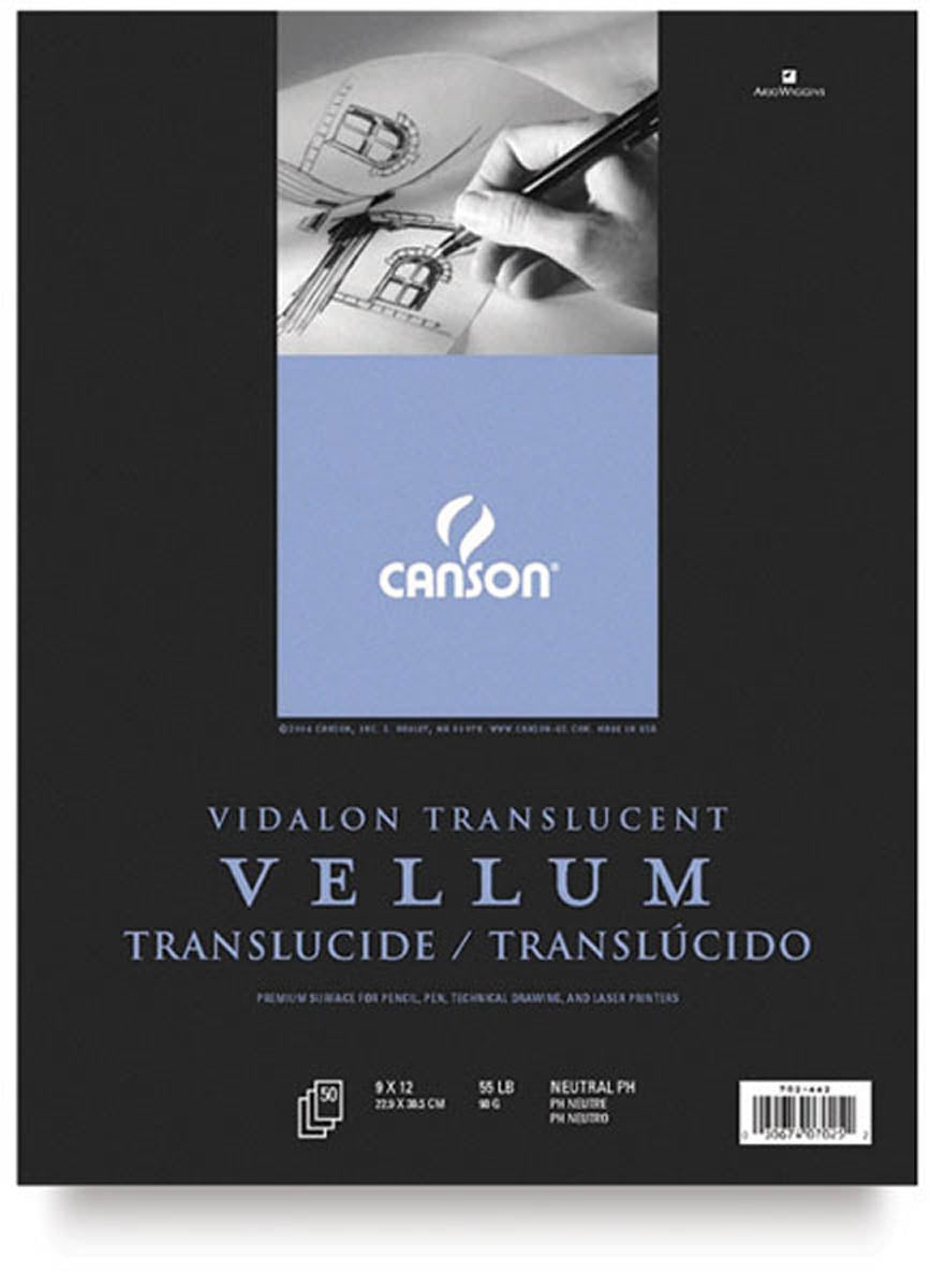 Vellum Tracing Paper Pad, 90 lb. Vidalon by Canson-Talens