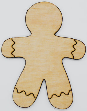 Christmas Cutouts, Gingerbread Man