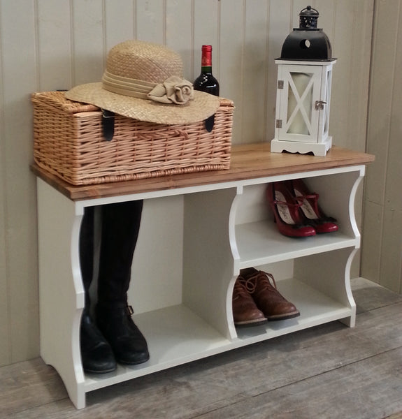 Country Shoe & Boot Bench