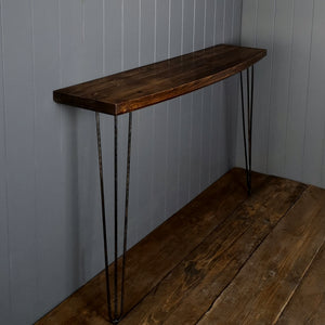 Fusion Bow Front Console Table