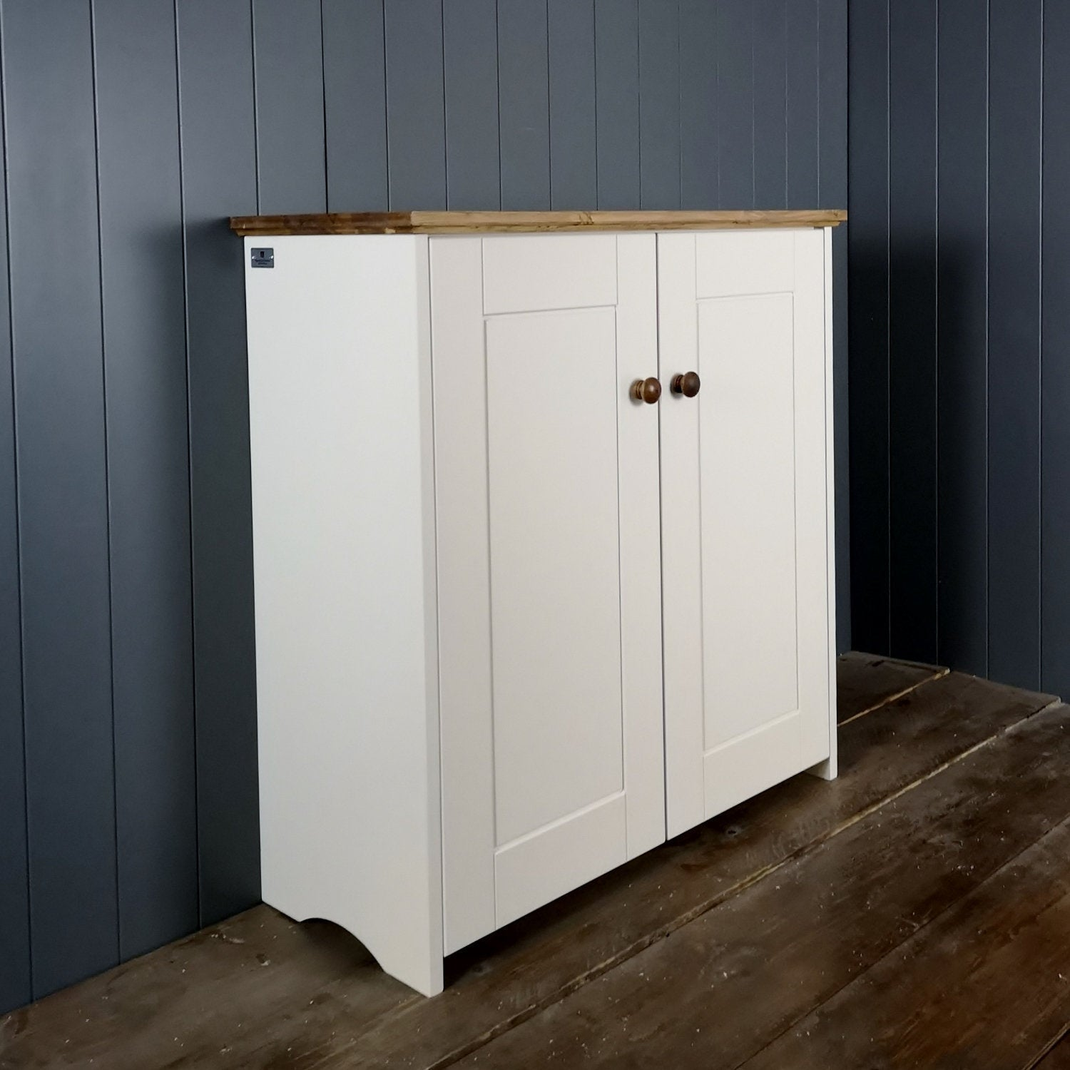 Double Country Storage Cupboard