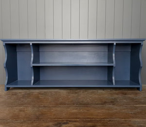 'The Blue One' Double Boot and Shoe Bench