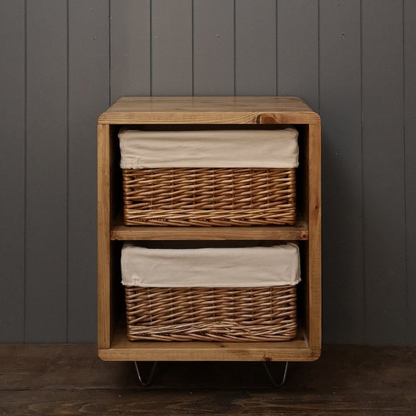 Bedside Baskets Night Stand