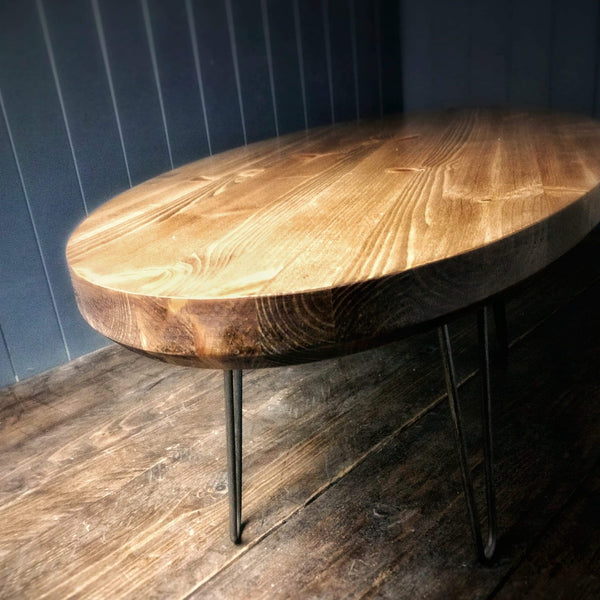 Retro Coffee Table - The Surfboard One