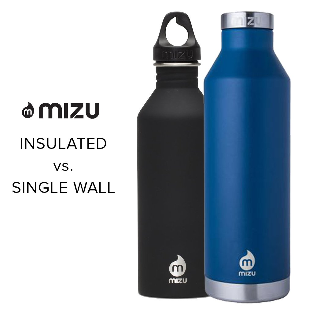 Insulated vs. Single Wall Water Bottle - What's the Difference?