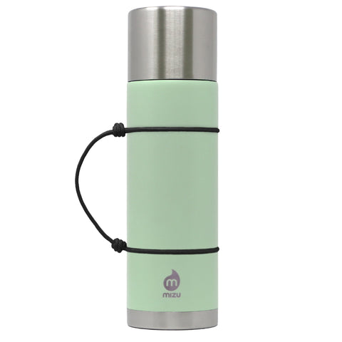 22 oz 640 ml thermos bottle stainless insulated sea glass green