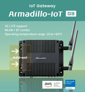 Armadillo-IoT Gateway G3 Mass production model
