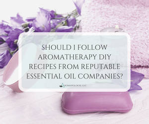 Essential Oil Companies & DIY