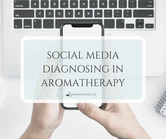 Social Media Diagnosing in Aromatherapy