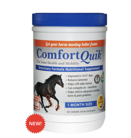 Comfort Quik is a veterinary formulated nutritional supplement that contains Epoxogyn Complex.