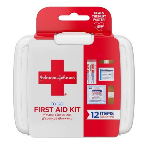 If you don't already have a first aid kit, buy one at your local pharmacy that includes Neosporin, band-aids, Advil, etc.