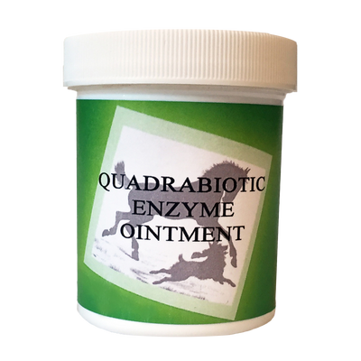 QUADRABIOTIC ENZYME OINTMENT