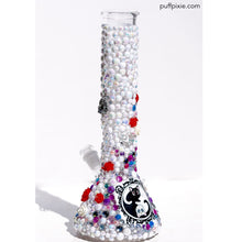 Magical Sailor Kitties Water Pipe with Crown Charm Exclusively by Puff Pixie
