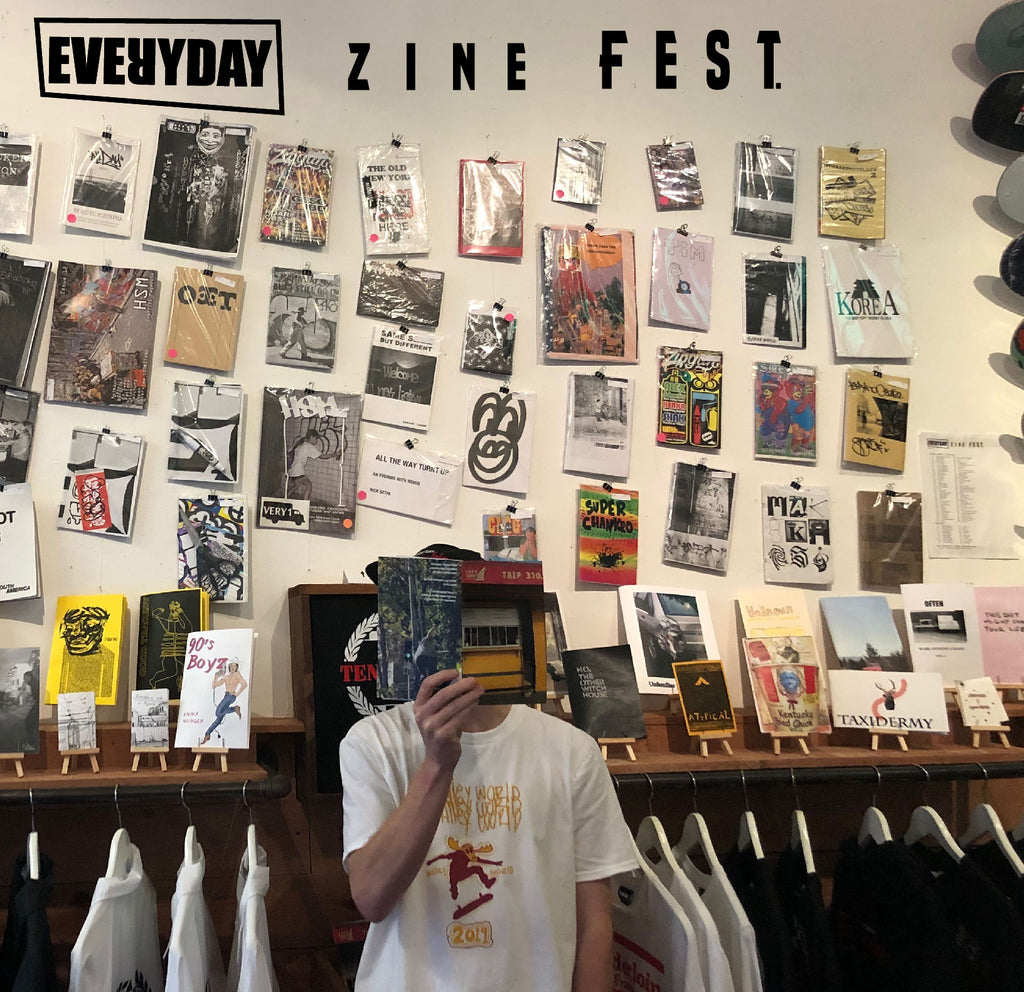 'Zine Fest' 4/2/2019 First Thursday Artwalk @ Everyday Skate Shop