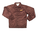 'Tenderloin Fan Club' Maroon Coach Jacket