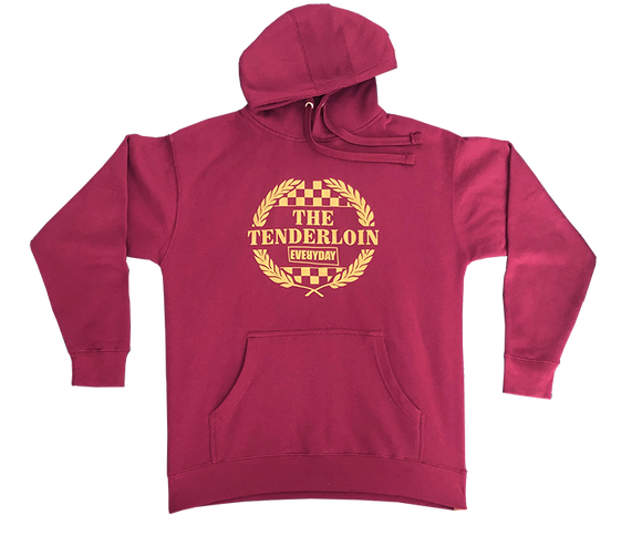 Everyday 'Fan Club' Maroon Hoody