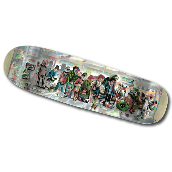 'Out of Pocket'  -  Skate Deck