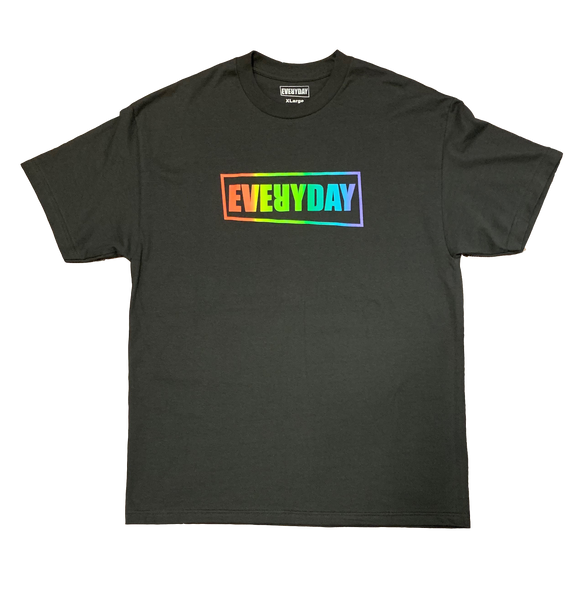 Everyday Pride - Black T-Shirt
