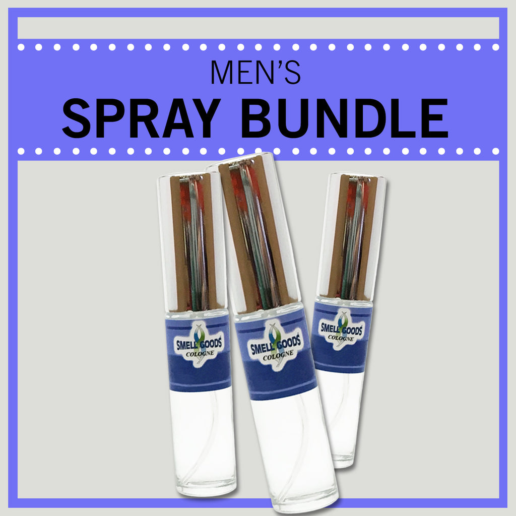 Men's Spray Bundle - Save over 10% with 3 or more - Use code below