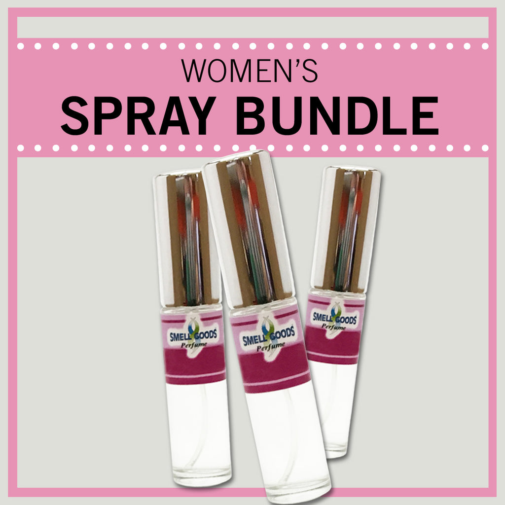 Women's Spray Bundle - Save over 10% with 3 or more - Use code below