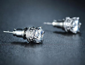 Crown Earrings - Cokota