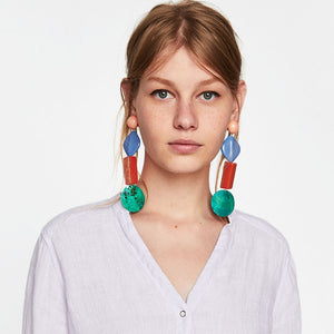Shell Earrings - Cokota