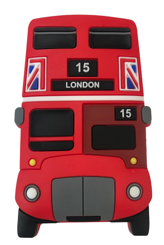 London famous Red Bus Fridge Magnet, High Definition Print Gift Souvenirs - British Heritage Brands
