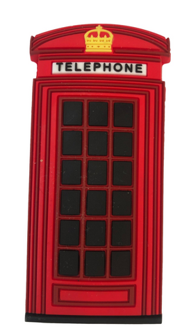 Famous Red London Telephone Box Fridge Magnet Gift Souvenir - British Heritage Brands