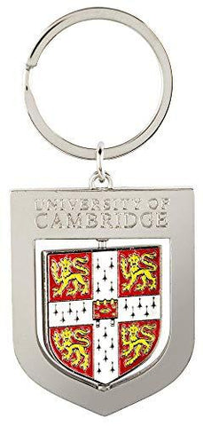 Licensed Official Cambridge University Metal Shield Crest Keyring Keychain