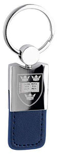 Licensed Official Oxford University Leather Fob Keyring Keychain Car Keys
