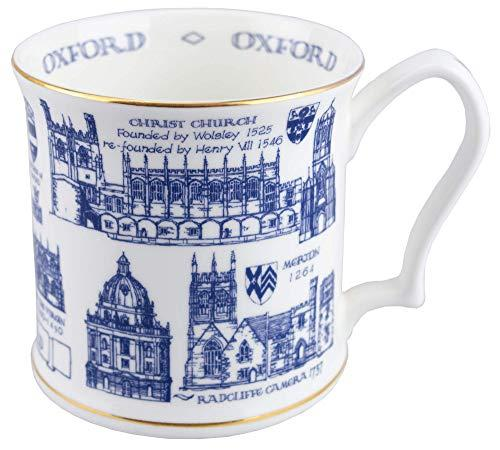 Oxford Heritage Tankard Mug Porcelain Stoneware Gift Box High Quality High Quality