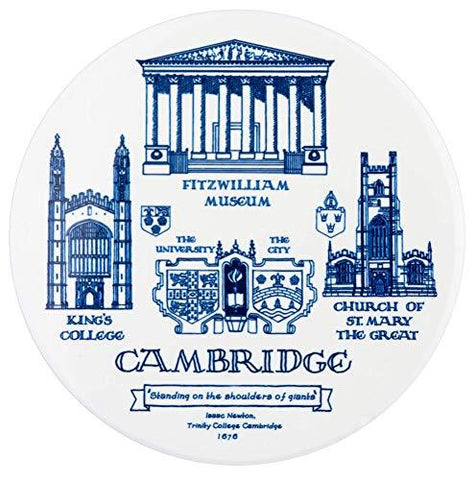 Cambridge High Quality Ceramic Coaster with Cambridge College Buildings High Quality