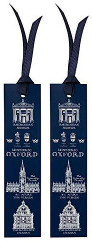 Oxford Heritage Bookmark Set of 2 with Oxford College Buildings