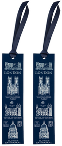 London Heritage Bookmark Set of 2 with London's Iconic Buildings