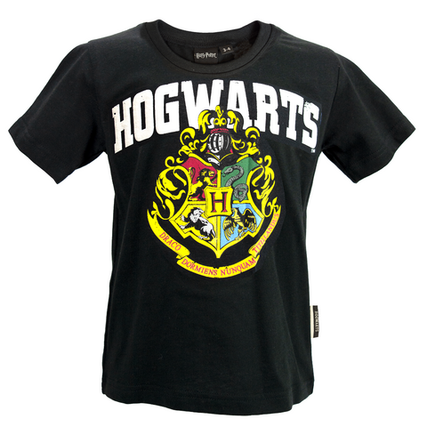 Licensed Kids Unisex Harry Potter Hogwarts T-Shirt Sizes 1 Year to 13 Years