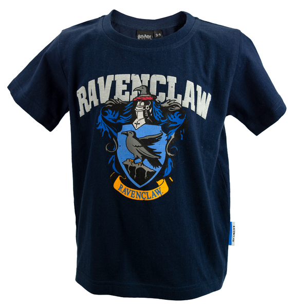 Licensed Kids Unisex Harry Potter Ravenclaw T-Shirt Sizes 1 Year to 13 Years Navy